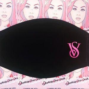 Vinyl design reusable comfortable face mask